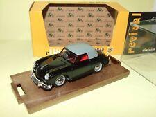 PORSCHE 356 CABRIOLET 1950 Noir BRUMM R118