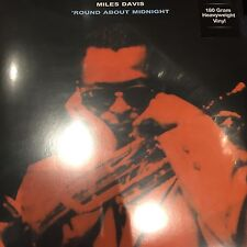 Miles Davis  'Round About Midnight' 180gram Vinyl LP BRAND NEW & SEALED