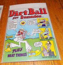 VTG 1972 Kitchen Sink Dirt Ball Funnies Underground Comix Comic Book 70s