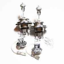Fiat Seicento 187 100w Clear Xenon HID High/Low/Fog/Side Headlight Bulbs Set