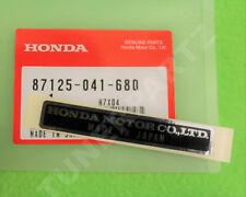 GENUINE HONDA MADE IN JAPAN BLACK DECAL NAME PLATE STICKER 87125-041-680