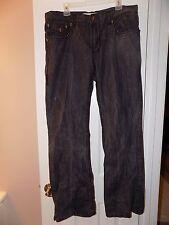 Men's Laguna Beach Skull Rocker Jeans - Black - Size 38 x 35