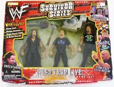 NEW WWE/WWF Survivor Series Wrestler Action Figure Set Undertaker Stone Cold