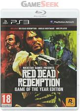 PS3 RED DEAD REDEMPTION : GAME OF THE YEAR (EU) - PLAYSTATION PS3 BRAND NEW