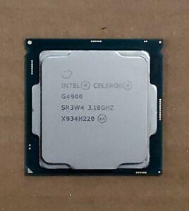 Intel Celeron G4900 Processor SR3W4 Dual Core 3.10 GHz Desktop CPU Genuine USA