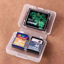 Portable 1CF 4SD Card Memory Card Protecter Box Storage Hard Plastic Case Holder