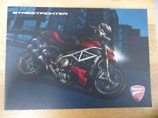Ducati Streetfighter premium Brochure - circa 2009