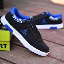 Moda para Hombre Casual Sports Running Zapatos Zapatillas de lona transpirable de Senderismo Plana