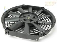"14 ""UNIVERSALE Radiatore Intercooler Ventilatore LAMA DRITTA GRATIS UK NEXT DAY P & P * F / O"