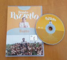 RENATO POZZETTO ** BURRO : il DVD ** Ottimo e Raro