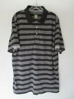 Pro Series Men's Size XL Striped Short Sleeve Polo Golf Shirt