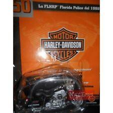 Moto Harley Davidson FLHRP Florida Police 1998 +fasc.50 MODELLINO DIE CAST 1:18