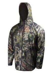 Mossy Oak Performance Fleece Full-Zip Hooded Jacket (XL)- MOC