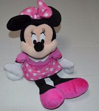 "Disney Minnie Perfume Pretty 17""  Mouse Plush Doll in Pink Dress & Shoes"