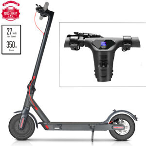 ‌🛴ELECTRIC SCOOTER LONG RANGE FOLDING ADULT KICK E-SCOOTER SAFE URBAN COMMUTER