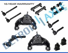 Blazer S10 Upper Control Arm Tierod Pitman Arm Ball Joint Sway Bar 13pc Kit 4WD