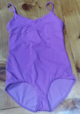 Lululemon 8 Citta Swim/Yoga/Dance Floss Travel Leotard Very Violet Reversbl EUC!