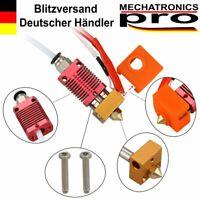 24V MK8 Hot End Kit CR-10 Ender 3 und ähnliche 3D Drucker 1.75/0.4mm rot