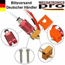 24v mk8 Hot end kit cr-10 Ender 3 y similares impresora 3d 1.75/0.4mm rojo