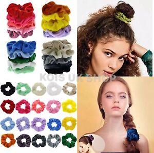 5-20 PCS Hair Band Multi Pack Hair Scrunchies Velvet Scrunchy Bobbles Elastic