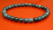 Russian Serpentine Bracelet Natural Gemstone 6mm