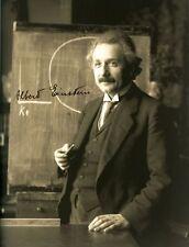 ALBERT EINSTEIN - Repro-Autogramm - 20x26 cm - Großfoto - repro autograph signed