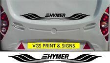 HYMER Caravane / camping-car Grand 2 pièces Kit autocollant décalcomanie