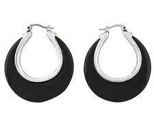 Resin Hoop Fashion Earrings