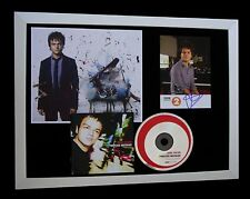 JAMIE CULLUM+SIGNED+FRAMED+POINTLESS+CATCHING=100% AUTHENTIC+EXPRESS GLOBAL SHIP
