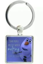 Disney Frozan Olaf keyring bag Charm bag charm birthday Christmas wedding 325