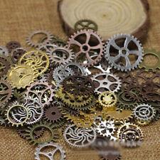 20pcs Bronze Watch Parts Steampunk Cyberpunnk Cogs Gears Jewelry Craft DIY BV005