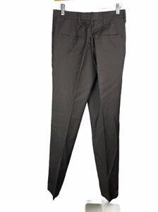 Men's Red Kap Black Brown Work Pants 29 Unhemmed Free US Shipping