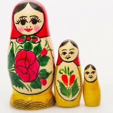 Hot Sale Russian Doll Matryoshka Family Brooch Pin Charm Hand Painted Original Souvenir Pins & Brooches Dolls