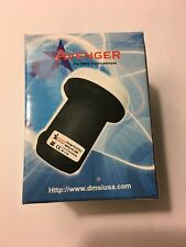 Avenger PLL321S-2 0.1dB Universal Single Output Linear Ku Band Satellite LNB FTA