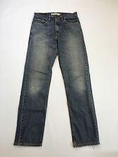 """Men's Levi 505 """"coupe droite"""" Jeans-W31 L34-Faded Bleu marine-Bon état"""