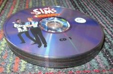 THE SIMS - 10 DISC PC CD-ROM LOT, SIMS 2, 3, EXPANSION PACK,UNLEASHED,PARTY, VAC