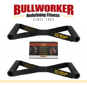 Bullworker Iso-Bow Pro Pair - Strength/Flexibility Trainer Yoga & Pilates Strap