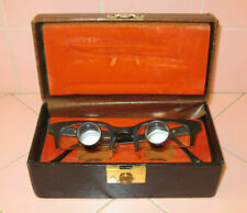 """Vintage """"Designs for Vision"""" Surgical Telescopic Eyeglasses ~2.5x IPD ~2.5""""/63mm"""