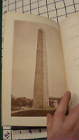 Vintage Original Book - june 17, 1890 Proceedings of the BUNKER HILL MONUMENT