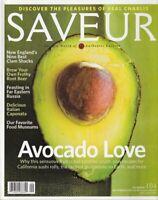 Saveur Magazine Number 104 September 2007 (Avocado Love; Clam Shacks)