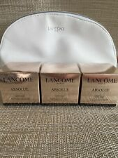 Lancome Absolue Rich Cream 3x15ml Free Cosmetics Bag Value £199