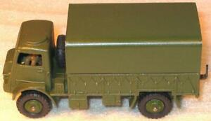 DINKY TOYs No 623 BEDFORD QL ARMY COVERED WAGON 1954-63. EXCELLENT UNBOXED
