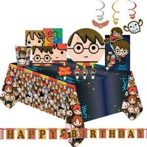 Harry Potter Cumpleaños Decoración Fiesta Platos Servilletas Mantel Halloween