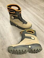 Men's PUMA Niveus Storm Force 1 Insulated Pull on Tan Boots Size 9 EU 42 Winter