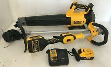 Dewalt DCK0222M1 20V Brushless String Trimmer & Axial Blower Combo Kit, L.N