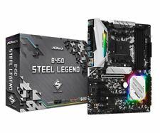 ASRock B450 Steel Legend AMD AM4 DDR4 Motherboard