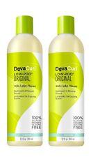 DevaCurl Low Poo Original Cleanser 12 oz Pack of 2