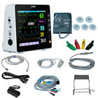 Medical ICU Vital Signs Patient Monitor 6Parameter ECG/NIBP/SPO2/TEMP/RESP/PR/HR