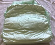Vintage Depend size large - Green Plastic Backed - 1990 - 5 Diapers