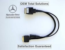 OEM MI-3G iPod iPhone Media Interface 30pin Music Aux Cable 2009-12 Mercedes